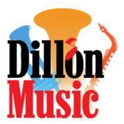 The Dillon Music Logo