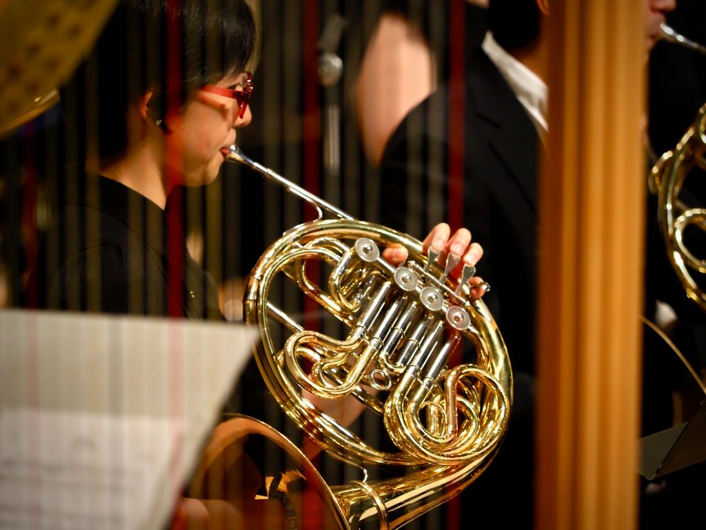 french horn player - look after your wind instrument