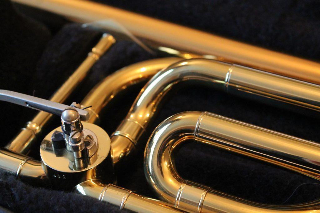 A Trombone in a Trombone Case (Photo by Rich Smith on Unsplash)