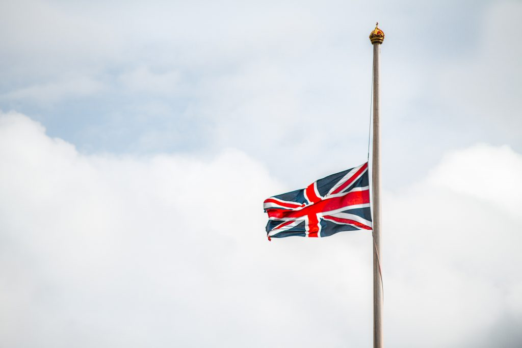 Union Jack (Photo by Maxim Hopman on Unsplash)
