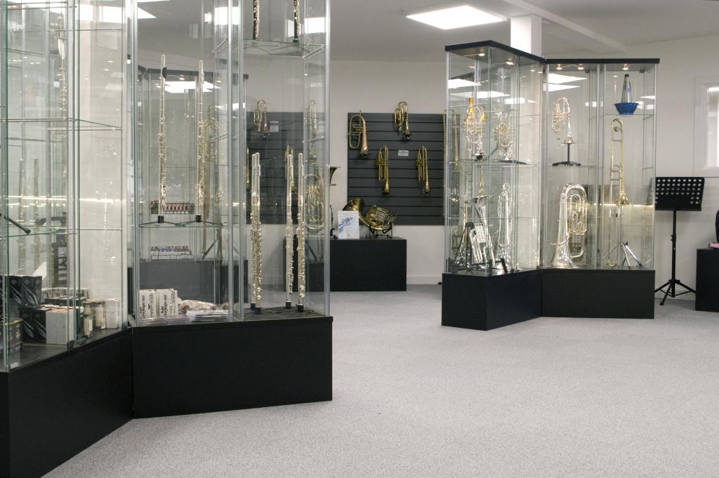Inside the John Packer store