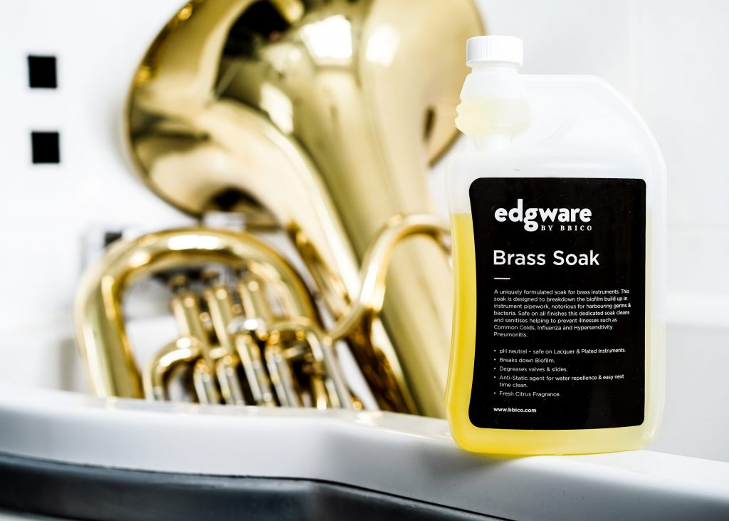 Using Edgware Brass Soak to Give your Brass Instrument a Bath